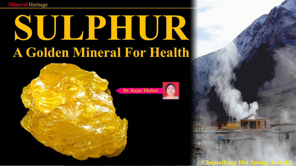 Sulphur - A golden mineral for health